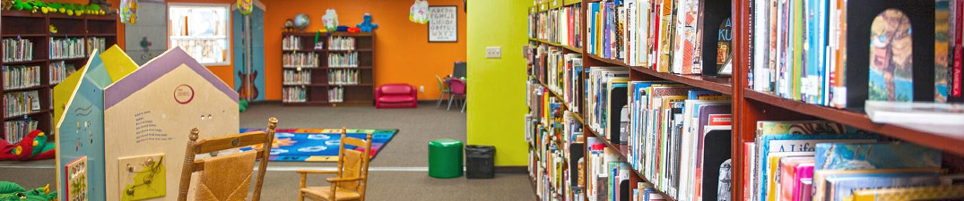 The children's library space at Bolivar County Library System