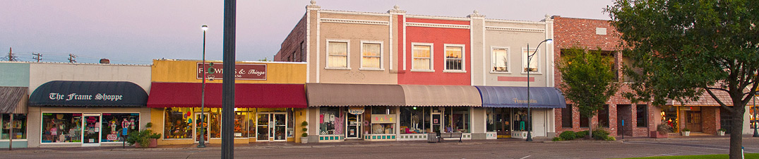 Downtown Cleveland Mississippi